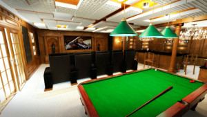 billiard-club-home-theater