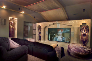 egyptian home theater