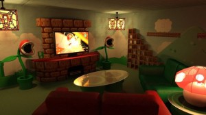 mario brothers home theater