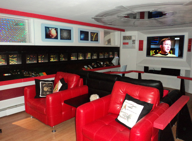 Star Trek Enterprise Home Theater