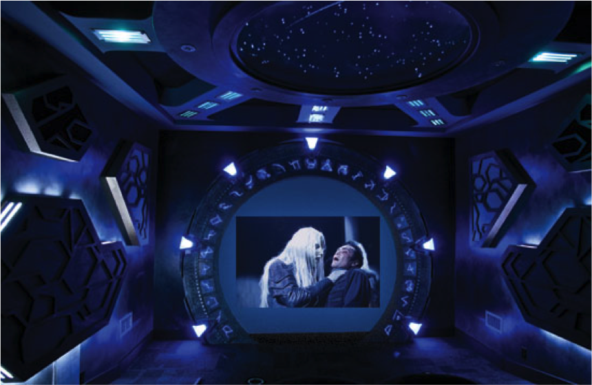 Stargate Atlantis Home Theater