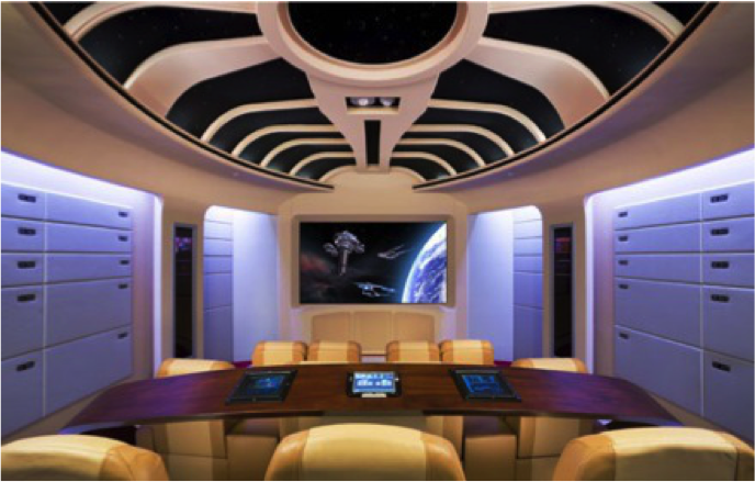 Star Trek Next Generation Home Theater